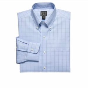 Jos. A. Bank tailored fit dress shirt sz 17 x 36